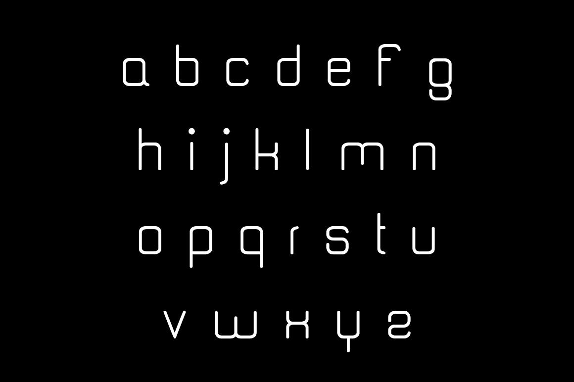 Quantum Font example image 3