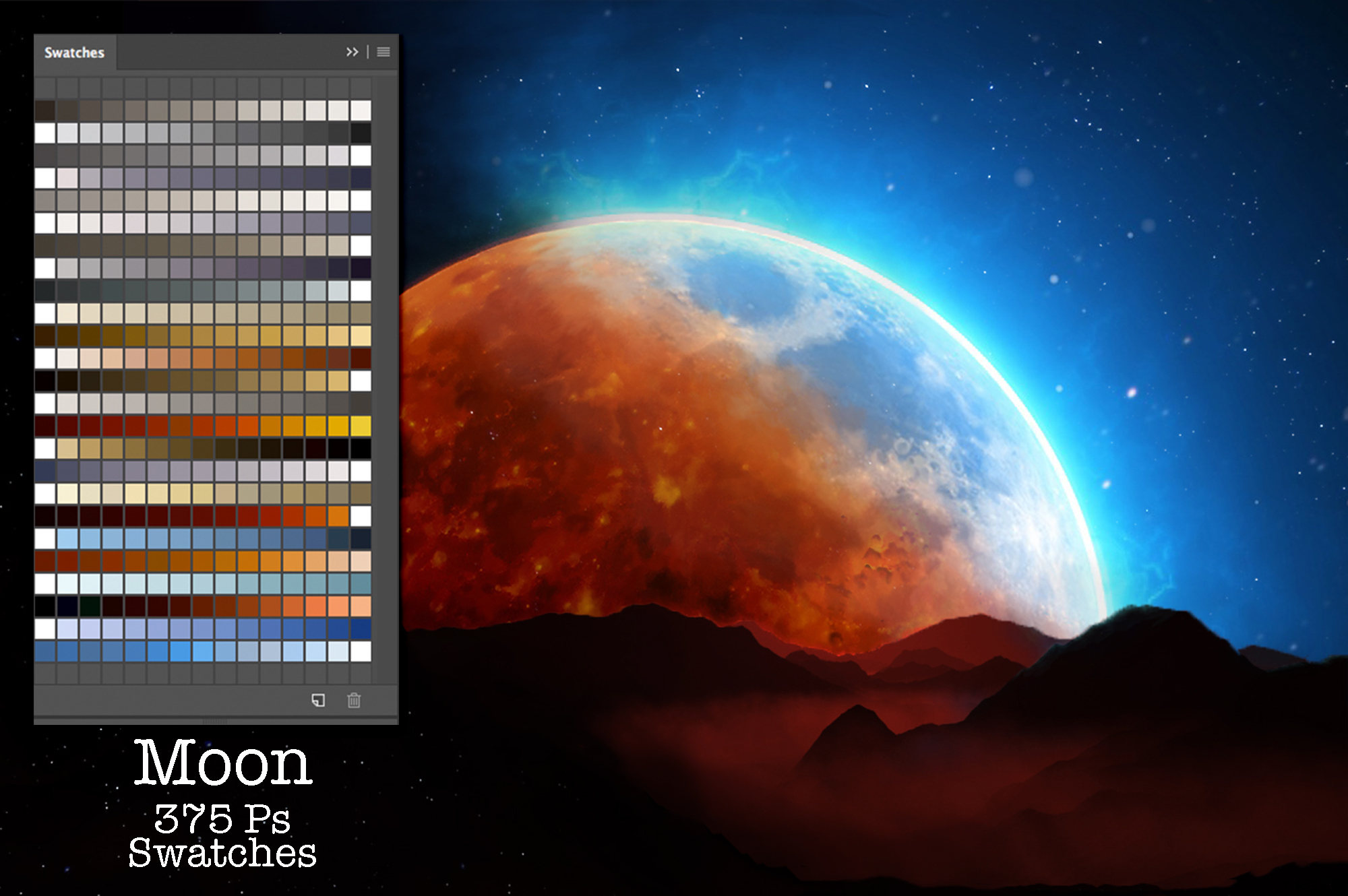 Moon Swatches example image 2