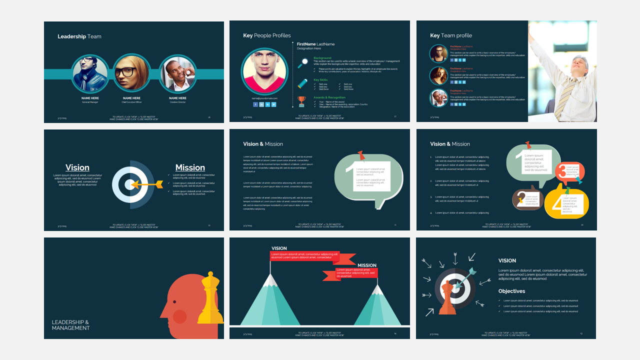 Superb Think Business Presentation Template Example Image 7