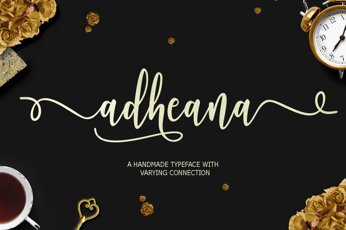 Adheana Font Duo example image 1