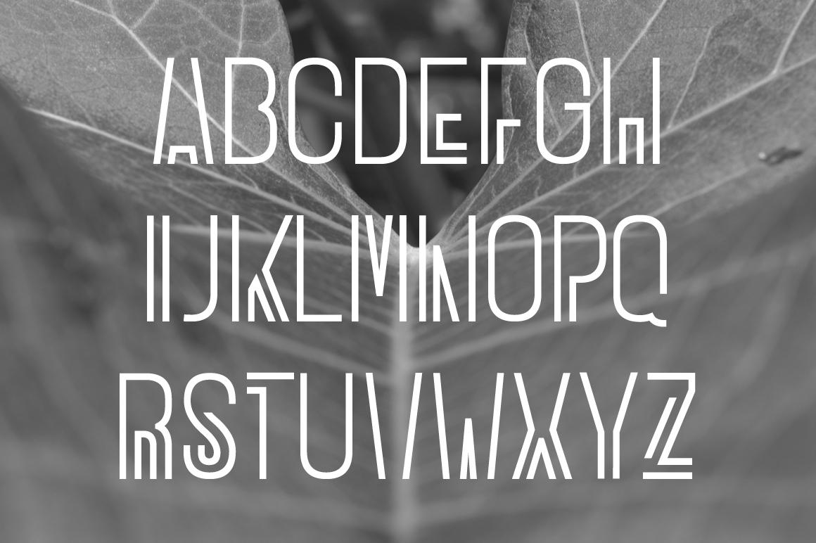 WONGDEWEK Modern Font example image 4