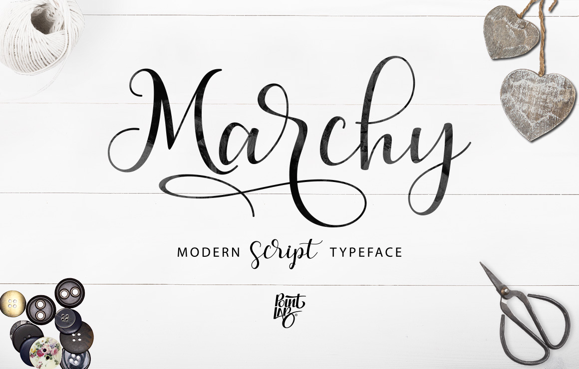 Marchy Script example image 19
