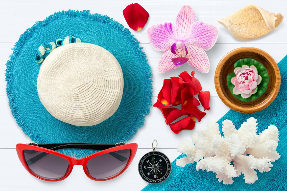 Isolated Summer Items example image 8