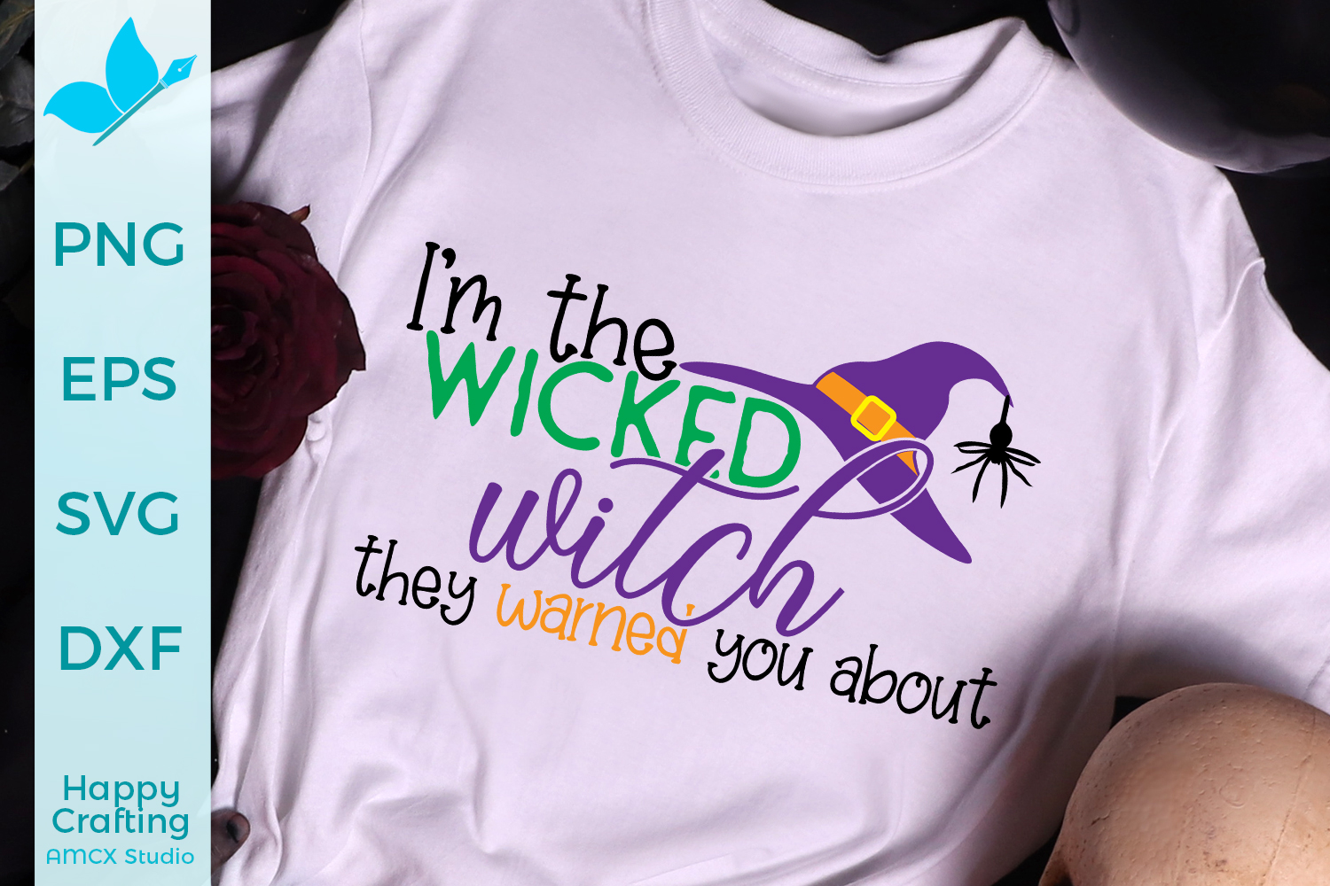 Wicked Witch - Halloween SVG example image 1