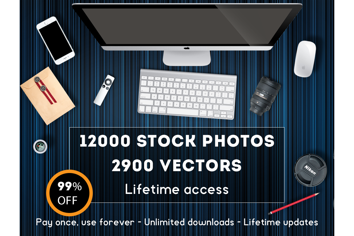 Lifetime access on Stock-Graphics - 14000 stock photos example image 1