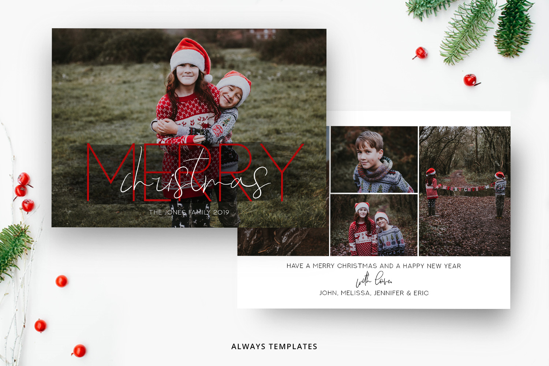 Christmas Card Template.Christmas Card Template Cc032