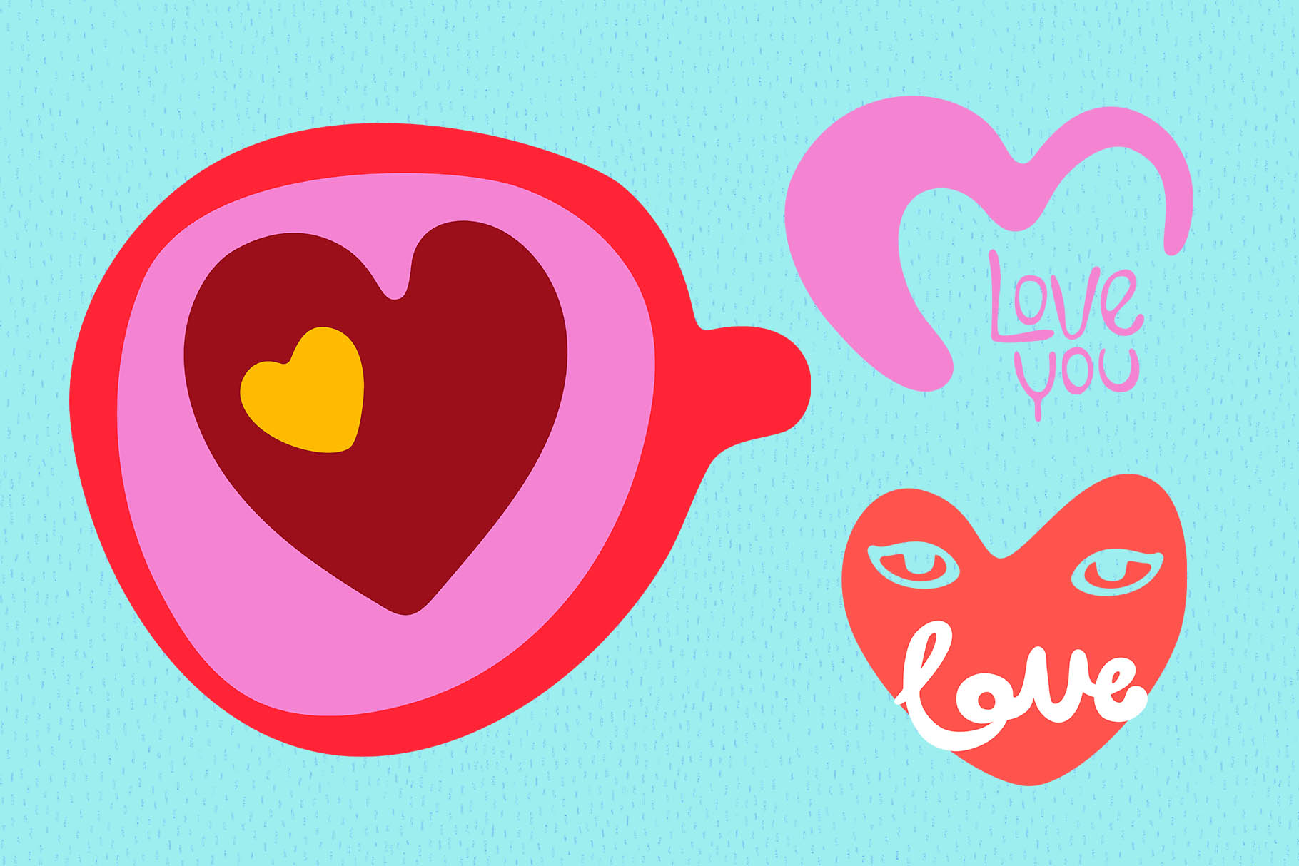 Valentine's Day Vector_part 15 example image 1