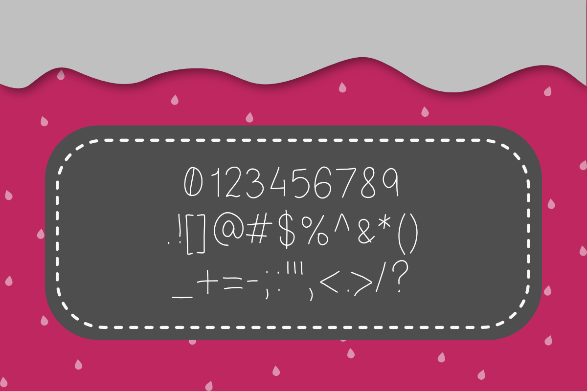 Strawberry Jam Font example image 7