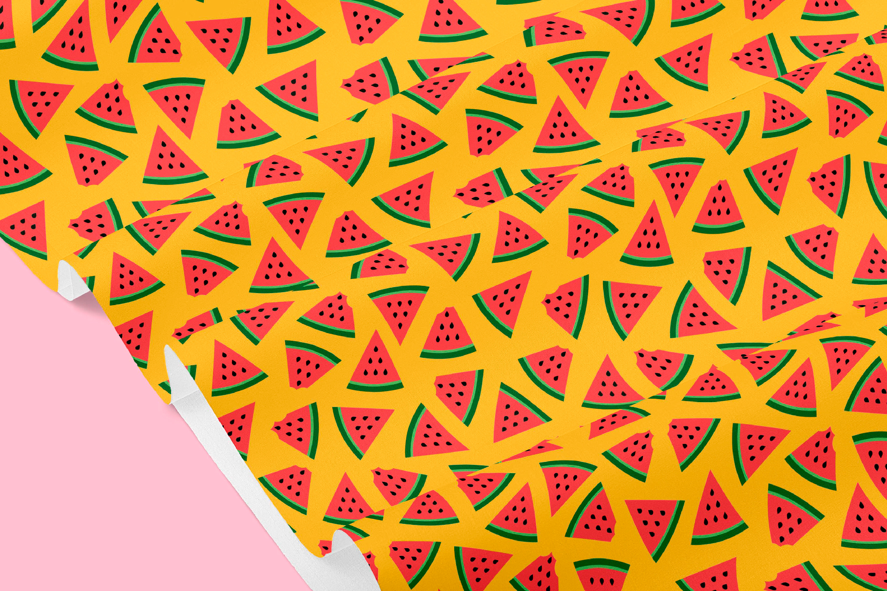 Watermelon Seamless Patterns example image 5