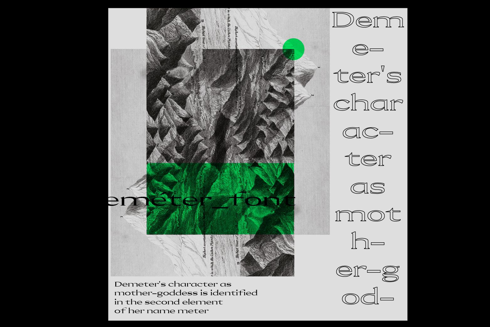 Demeter Font example image 7