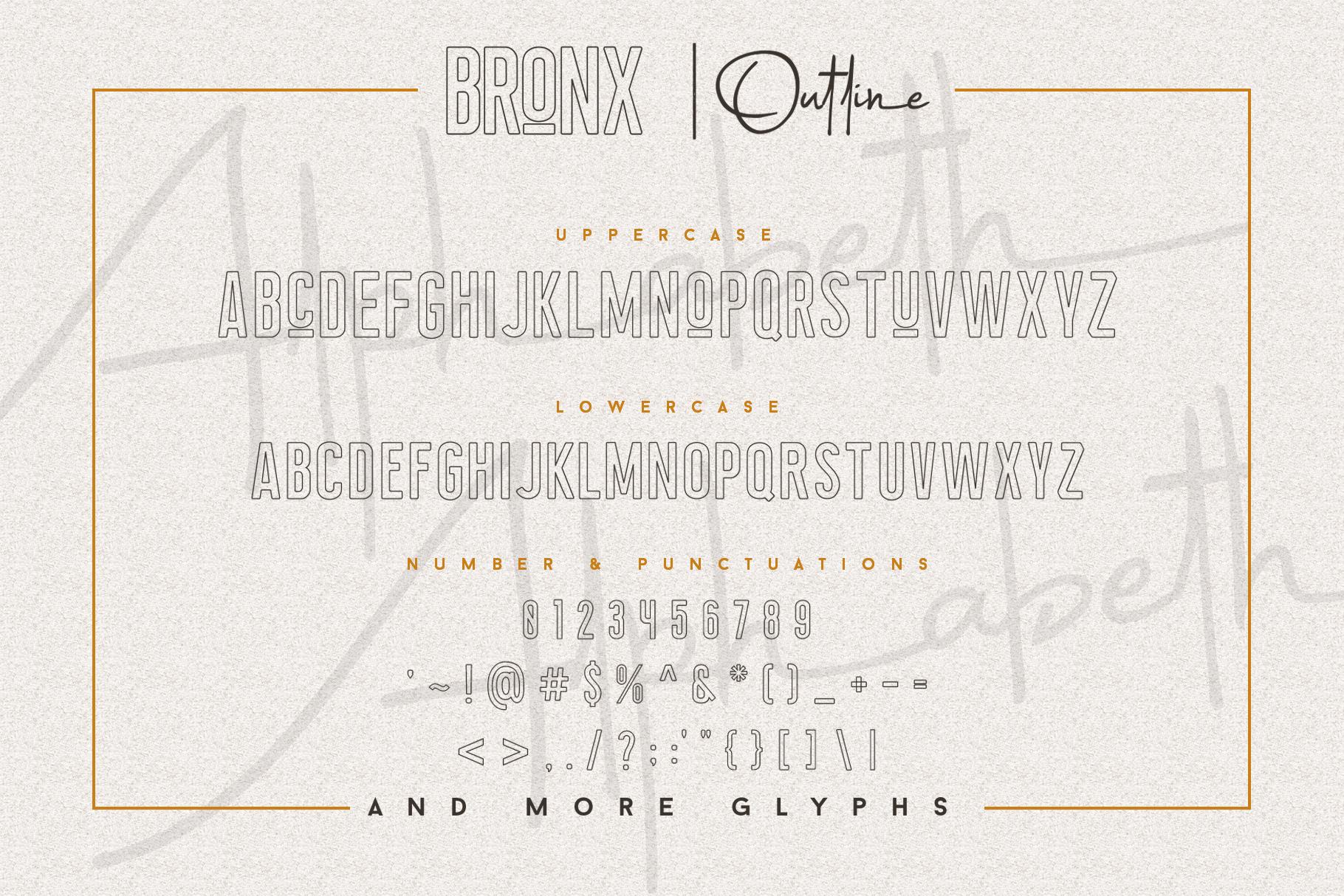 Bronx Simpul Sans-Script Font Duo example image 15