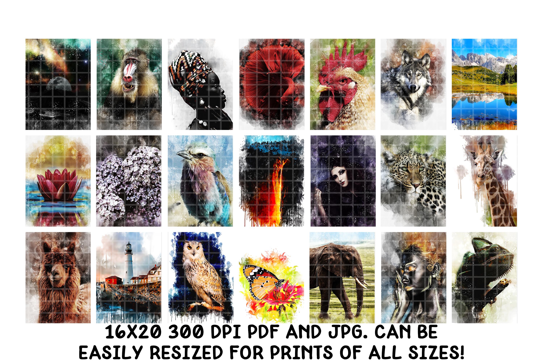 Digital Art Prints- Art Shop In A Box- Art Bundle example image 7