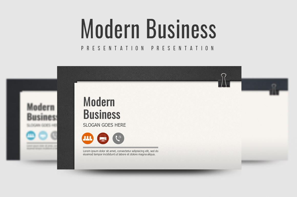 Modern Business Template example image 1