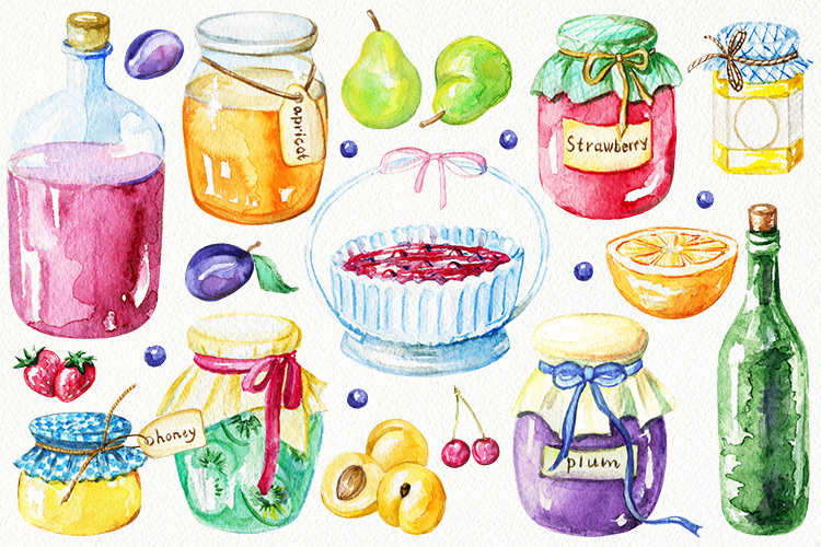 Jams & fruits example image 2