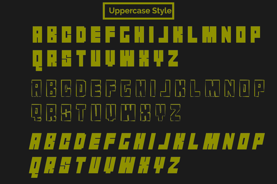 ROCKS Font example image 6