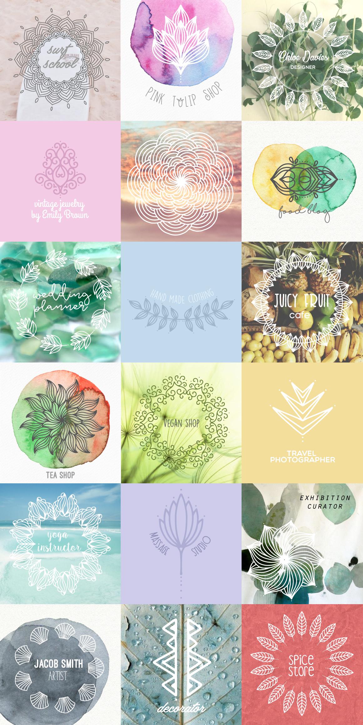 Mandala Collection [630 Elements] example image 2
