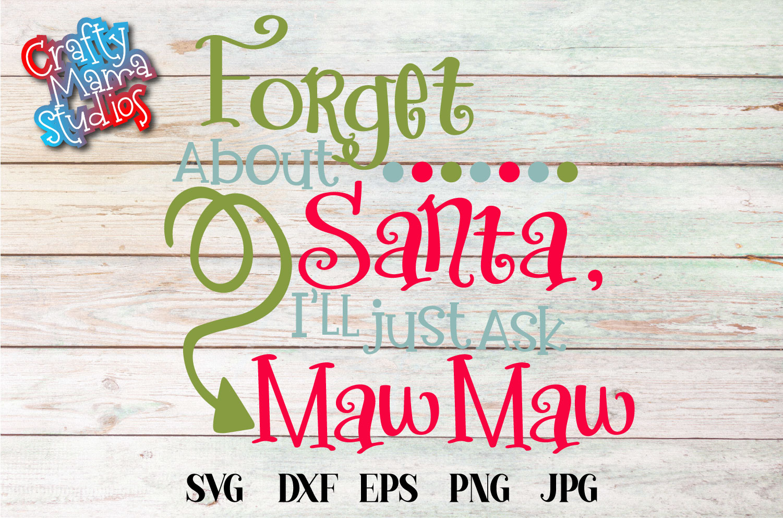 Christmas SVG, Grandma Claus, Grandma Christmas Bundle SVG example image 6