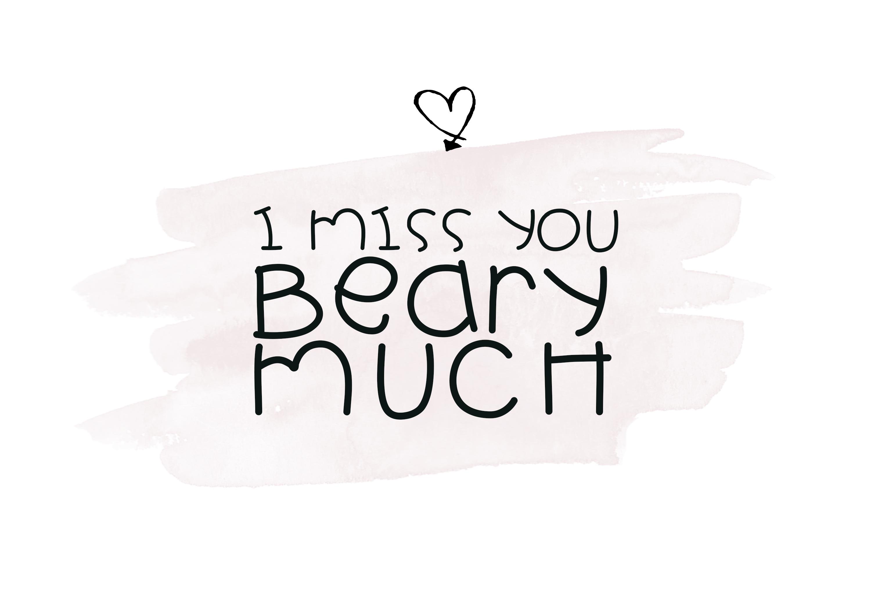 Little Bear - A Fun Handwritten Font example image 2