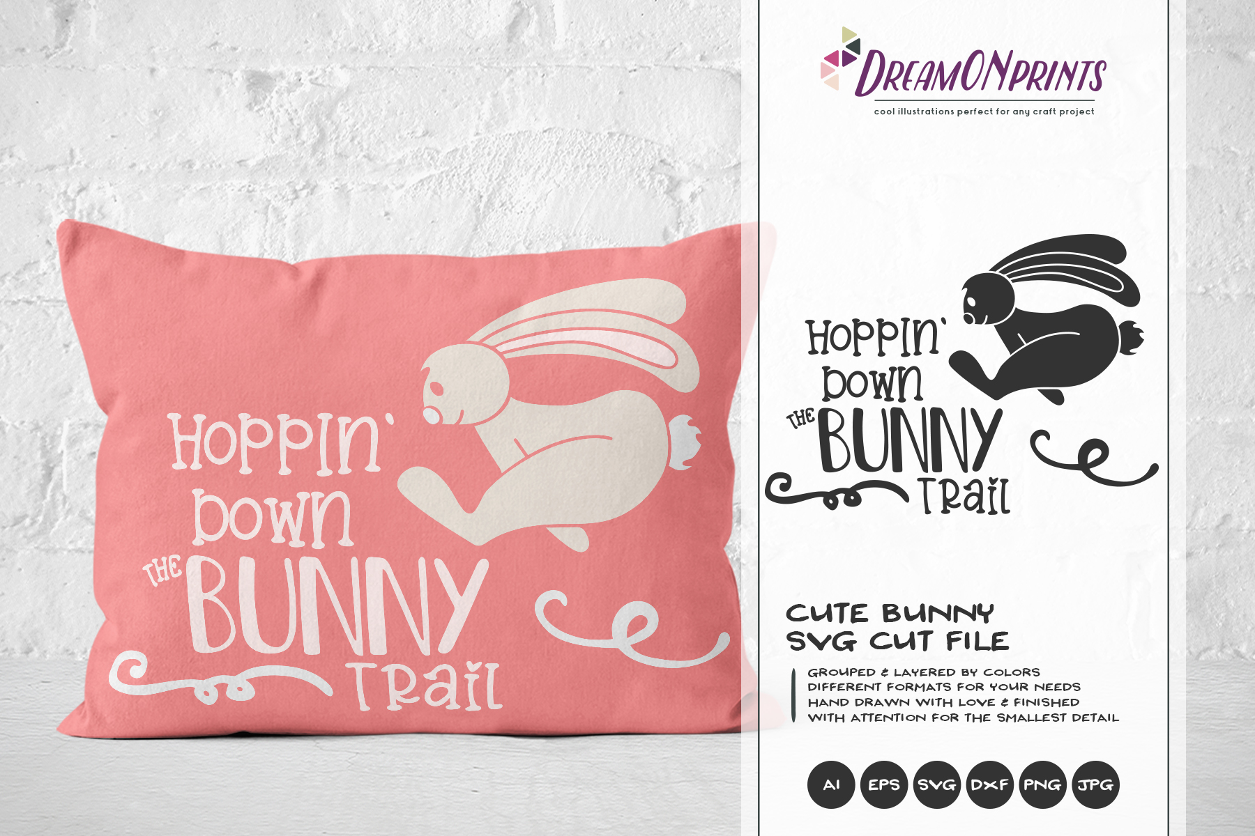 Easter SVG Bundle - The Funny Bunny Vector BUNDLE example image 12