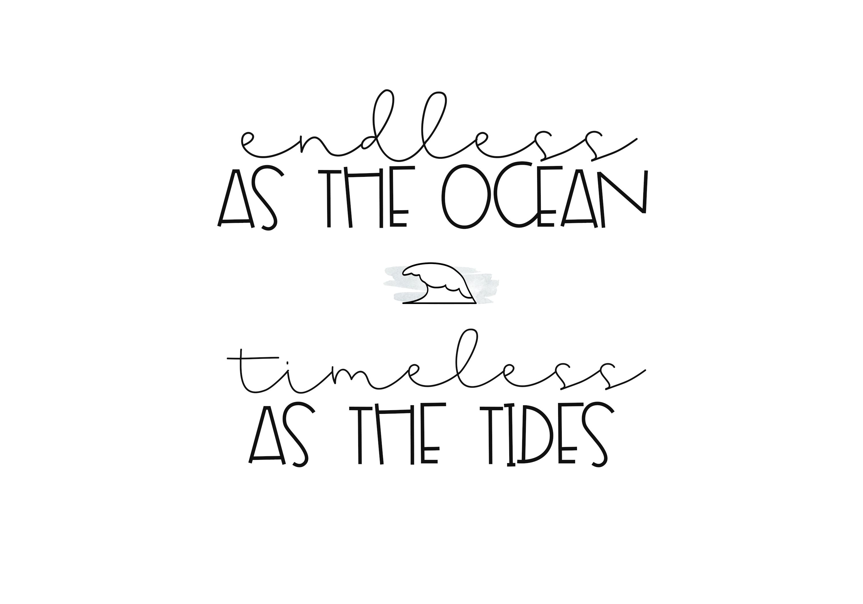 Seashore - A Fun Handwritten Font example image 2