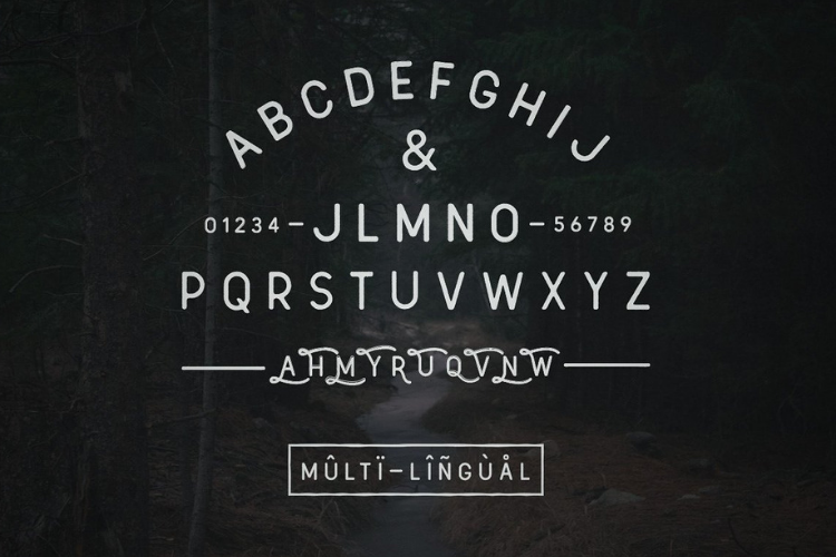 Arbour - Hand Drawn Font example image 4