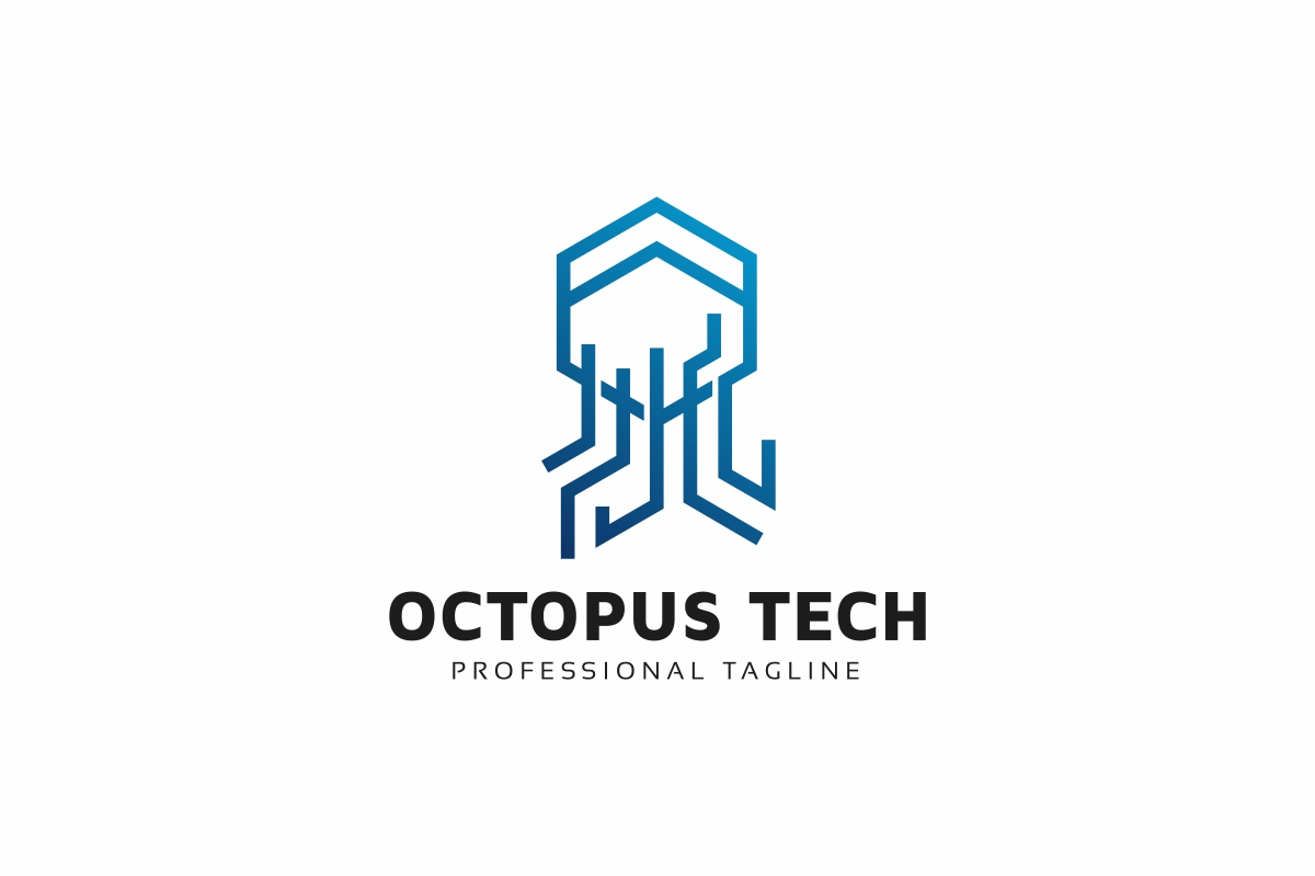 Octopus Tech Logo example image 1