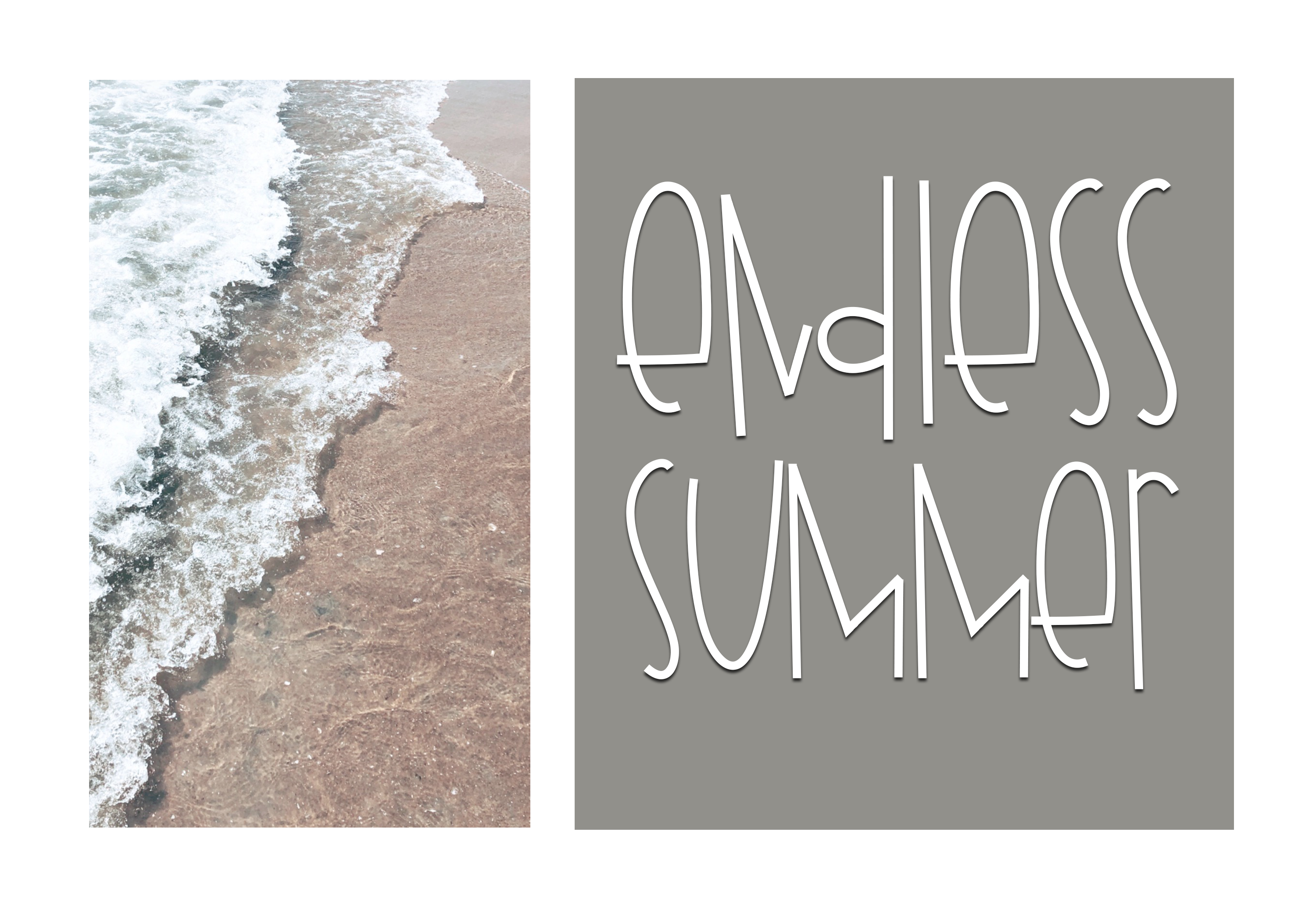 Beach Shop - A Quirky Handwritten Font example image 7