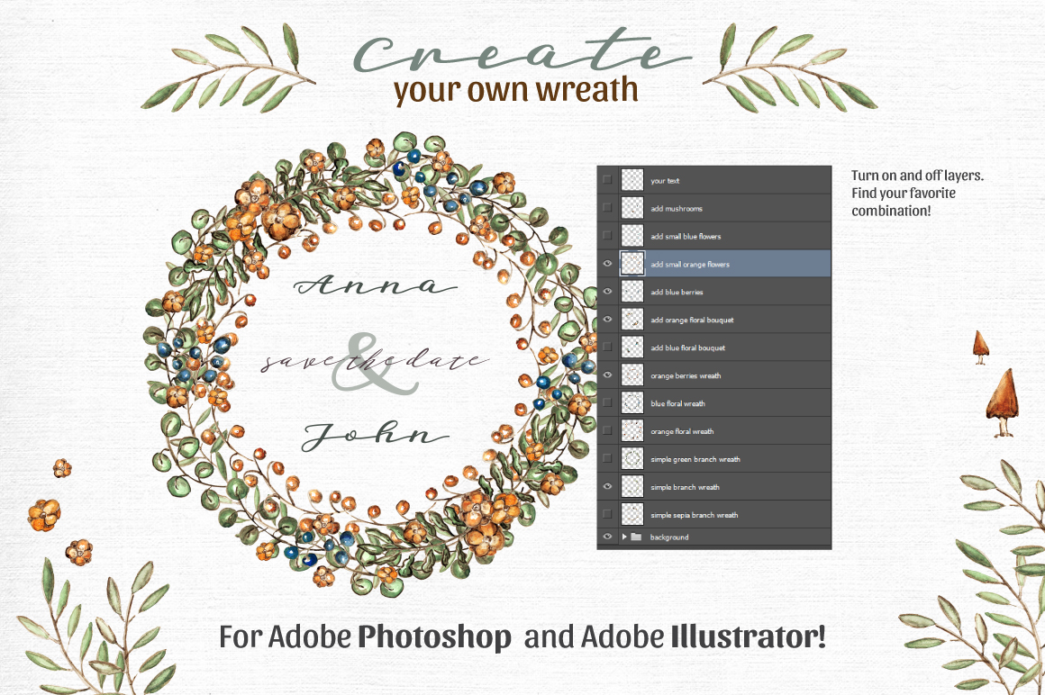 Rustic Wreath Creator example image 2