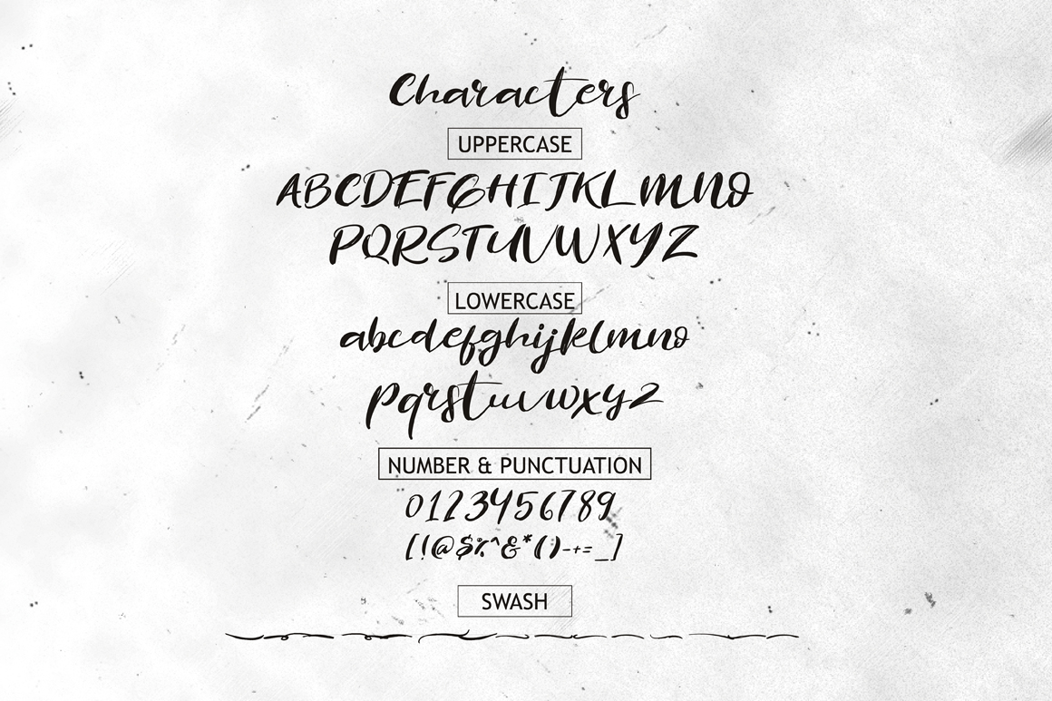 The Revolution Brush Font example image 8