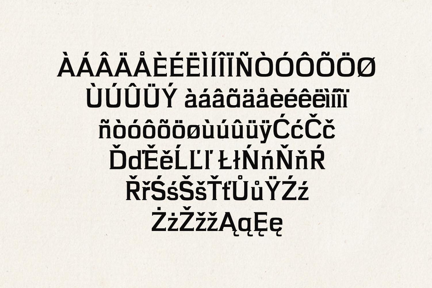 Brycen Serif Premium Font Family example image 2