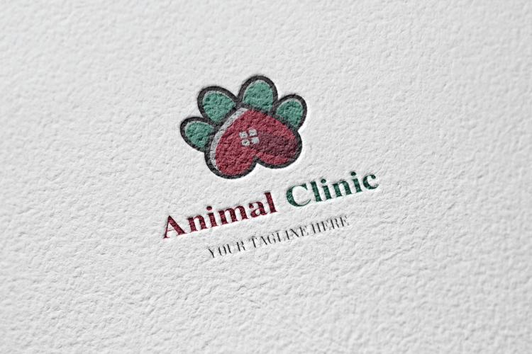 Animal Paw Vet Logo example image 2