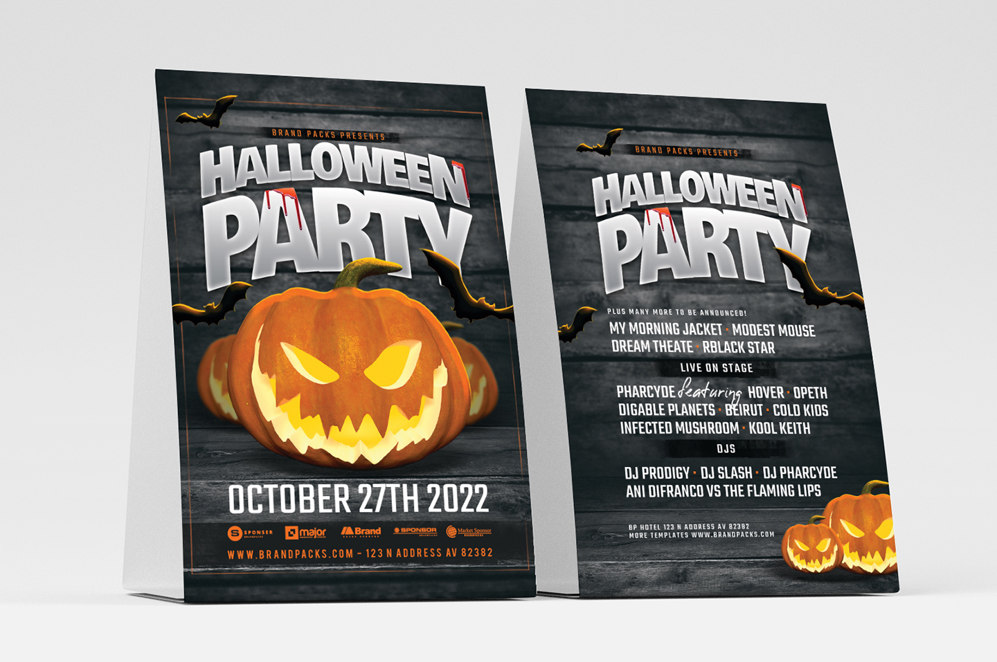 Halloween Party Flyer Template example image 4