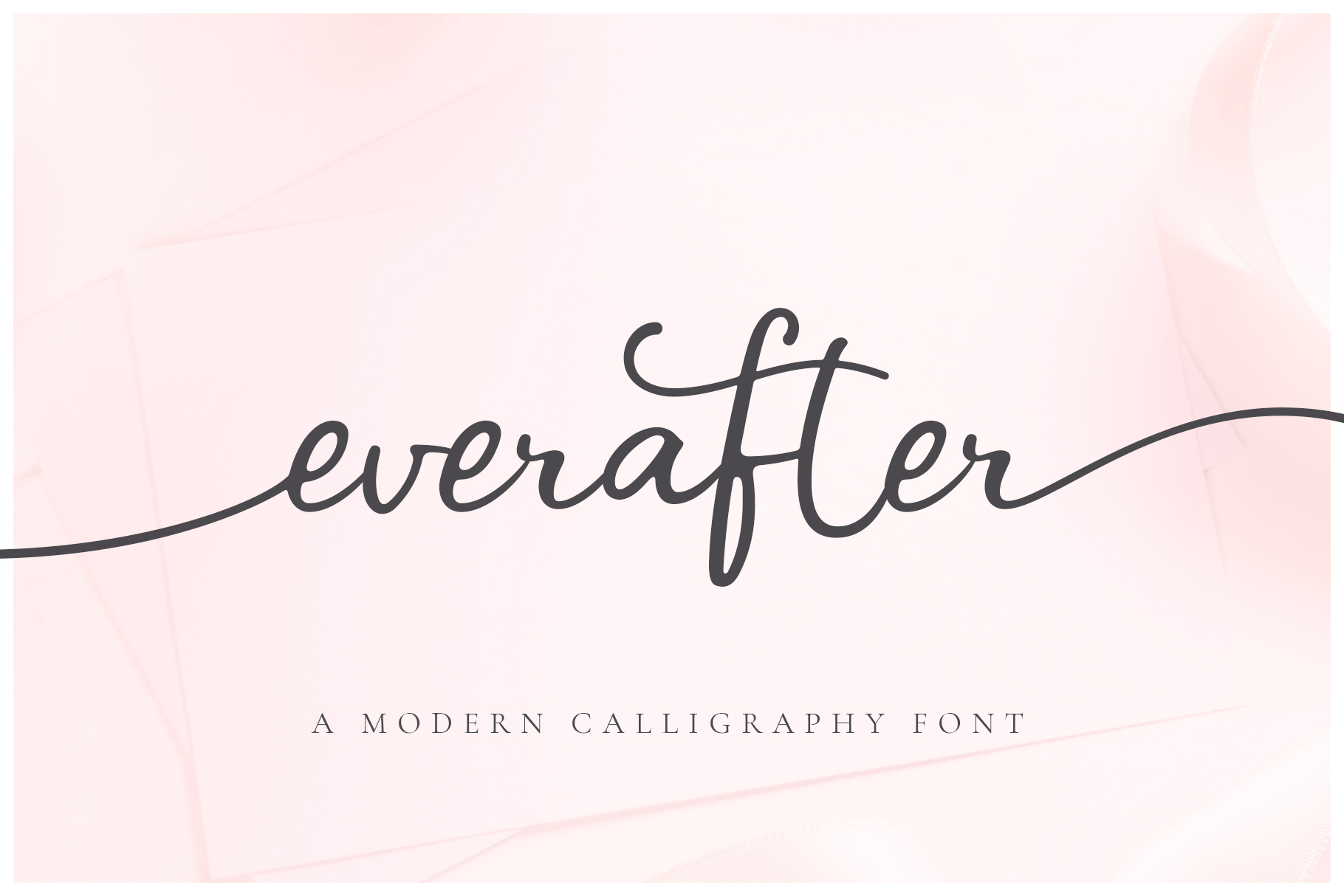 Ever After | A Modern Calligraphy Font example image 1