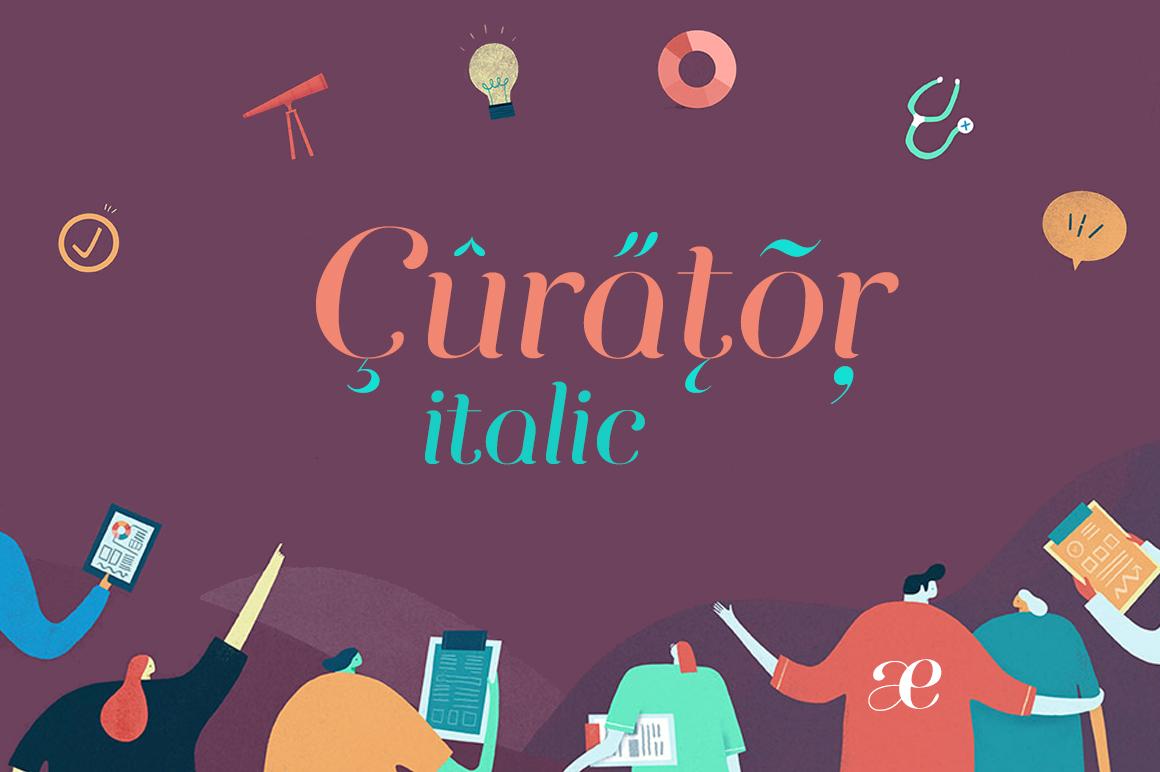 Curator Italic example image 1