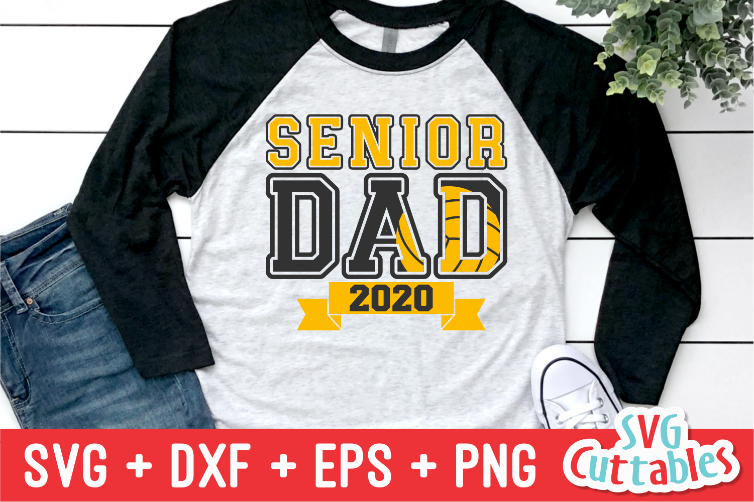 Senior Dad Volleyball | Volleyball svg Cut File example image 1