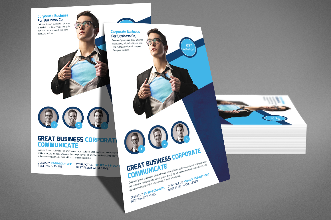 Global Business Flyer example image 4