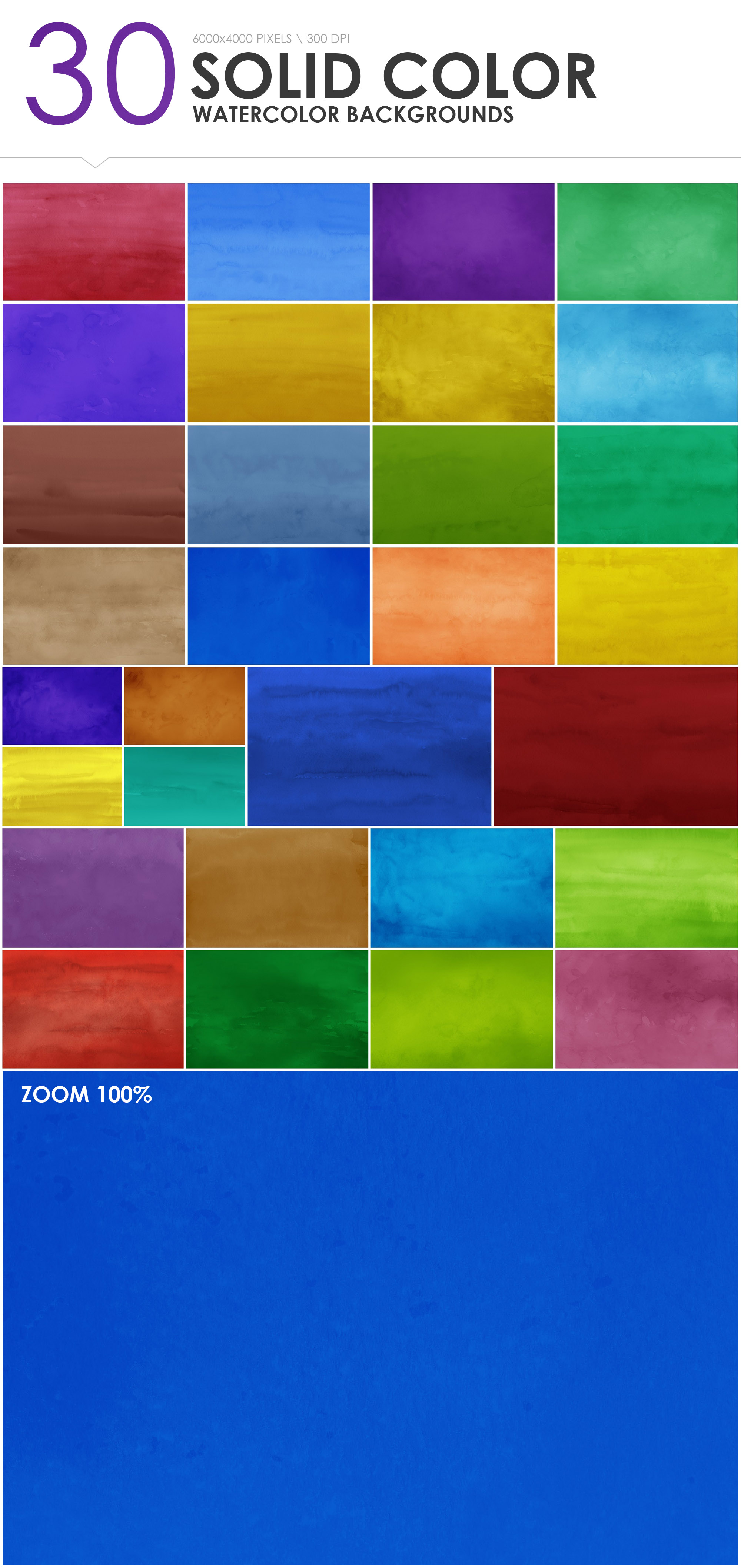 300 Diverse Watercolor Backgrounds example image 9
