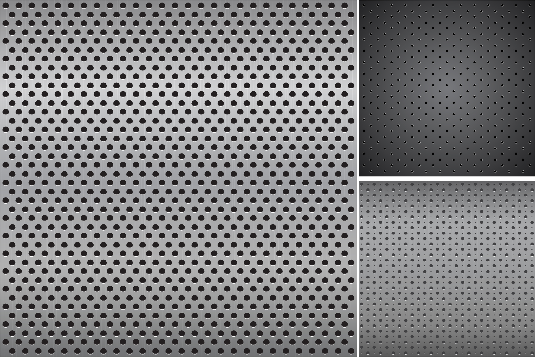 Metallic dark textures with holes. example image 7