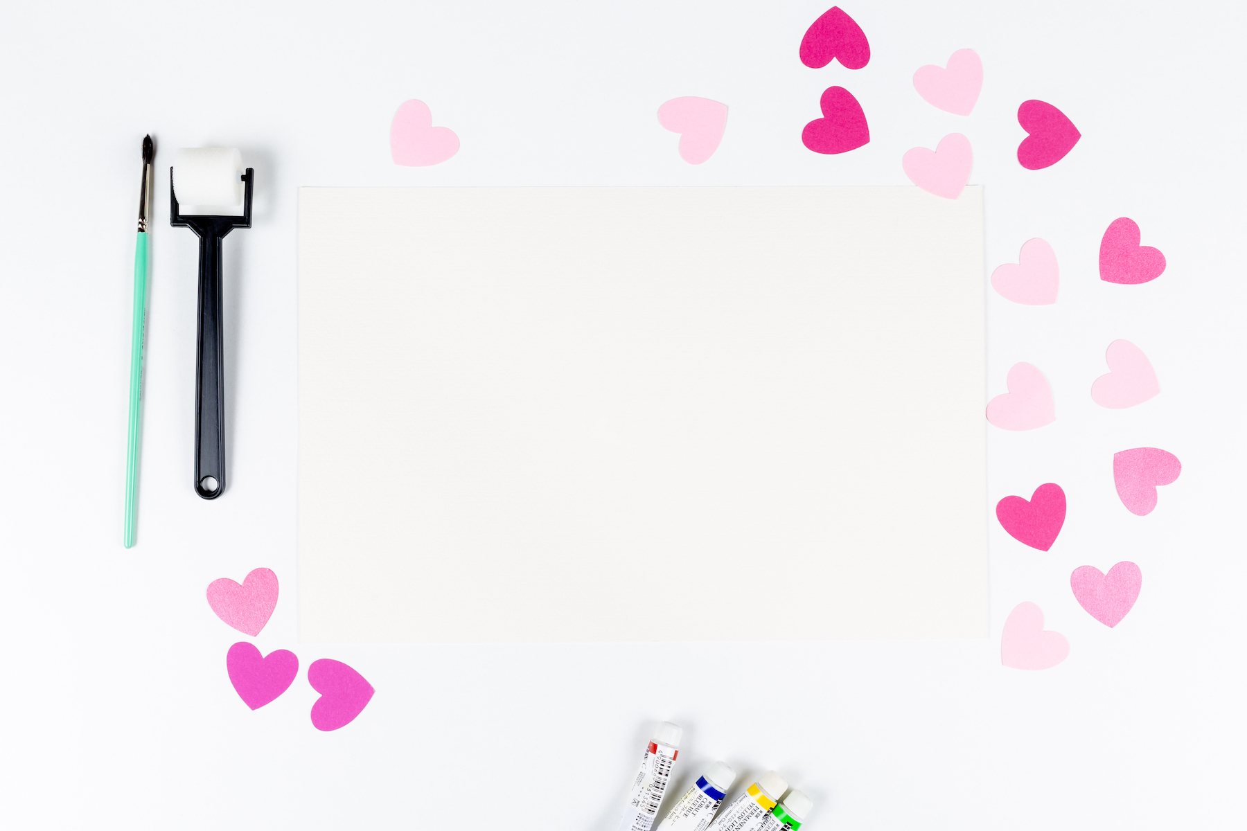 Set of 8 Valentine's Mockup's example image 4