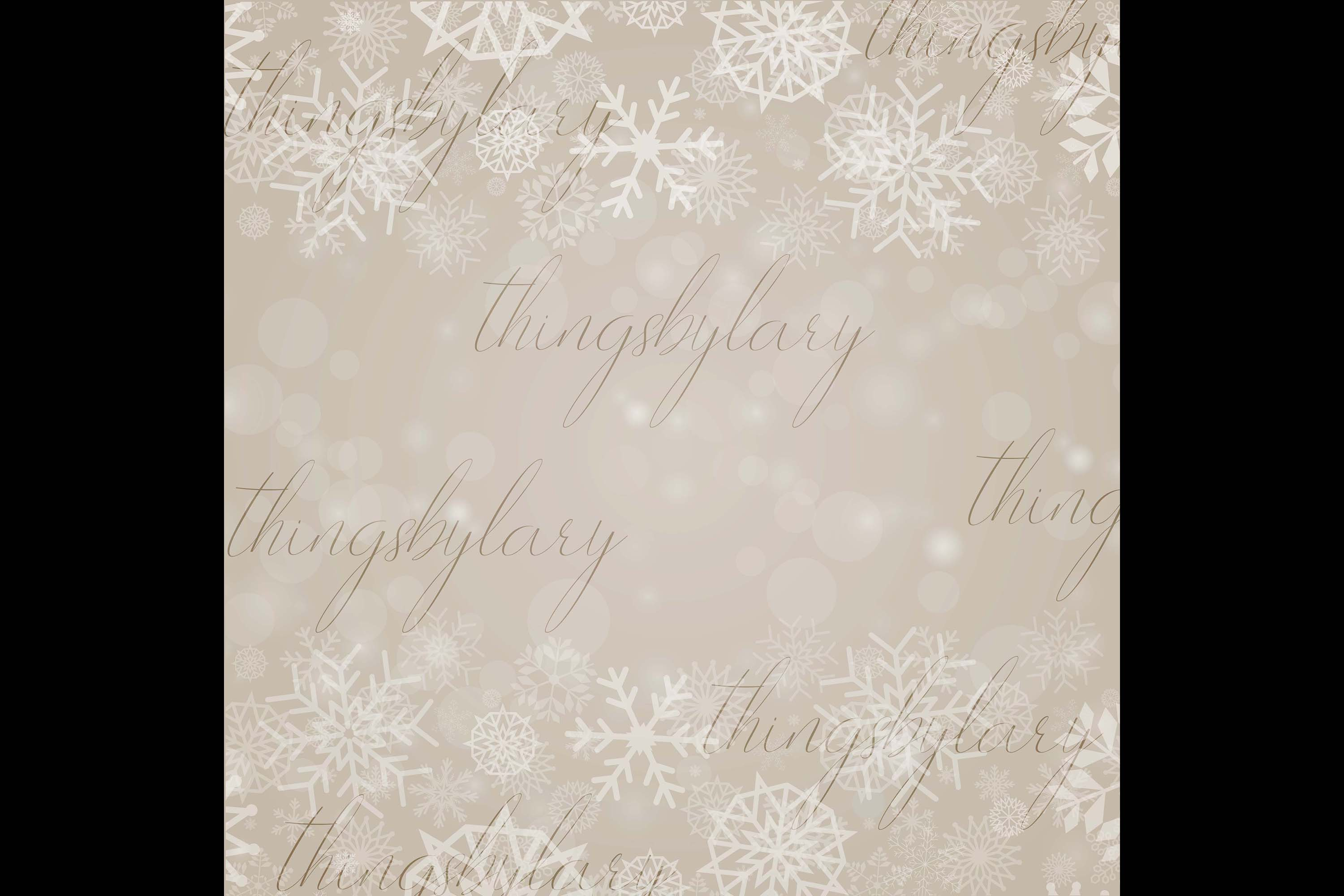 27 Falling Snowflakes Overlay Digital Images PNG Transparent example image 4