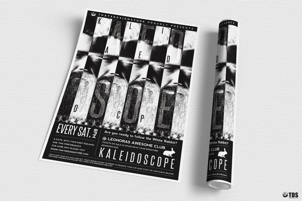 Kaleidoscope Flyer Template example image 3