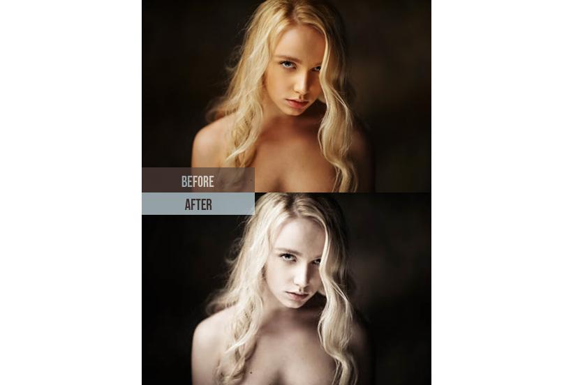 200 Premium Skin Retouch Lightroom Presets (Presets for Lightroom 5,6,CC) example image 5