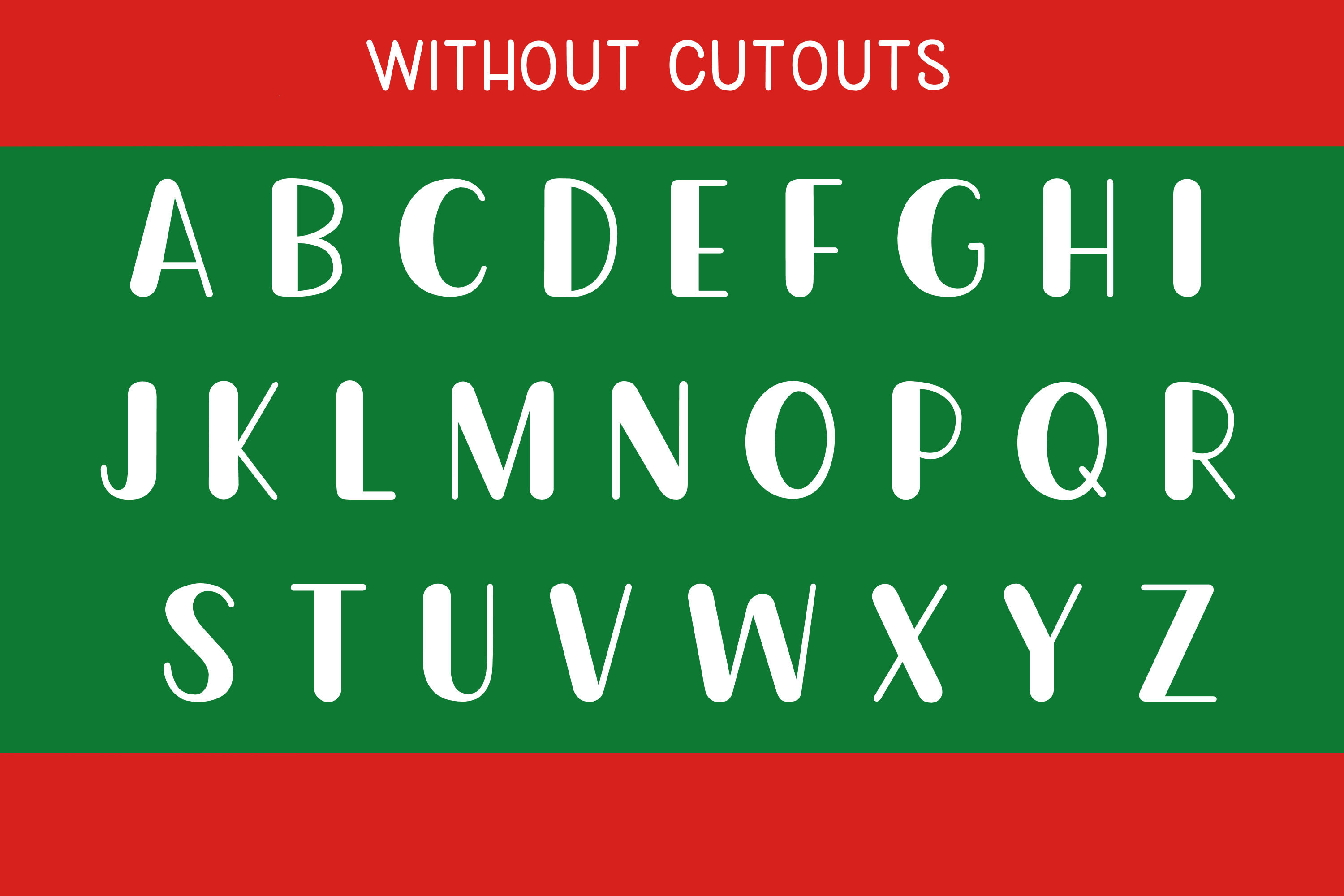 Christmas Cookie Cutters - A Christmas Font example image 3