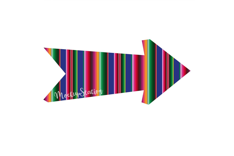 Sublimation Arrow Design PNG Bundle, Southern Clip Art example image 6