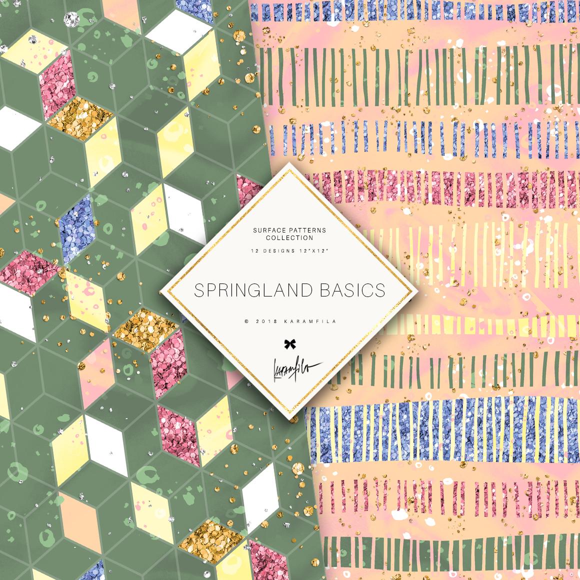 Karamfila's Springland Basic Patterns example image 4