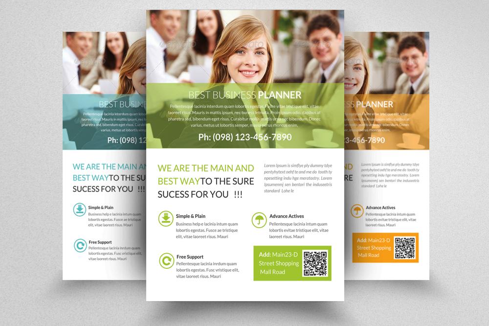 6 Professional Business Flyers Bundle example image 5