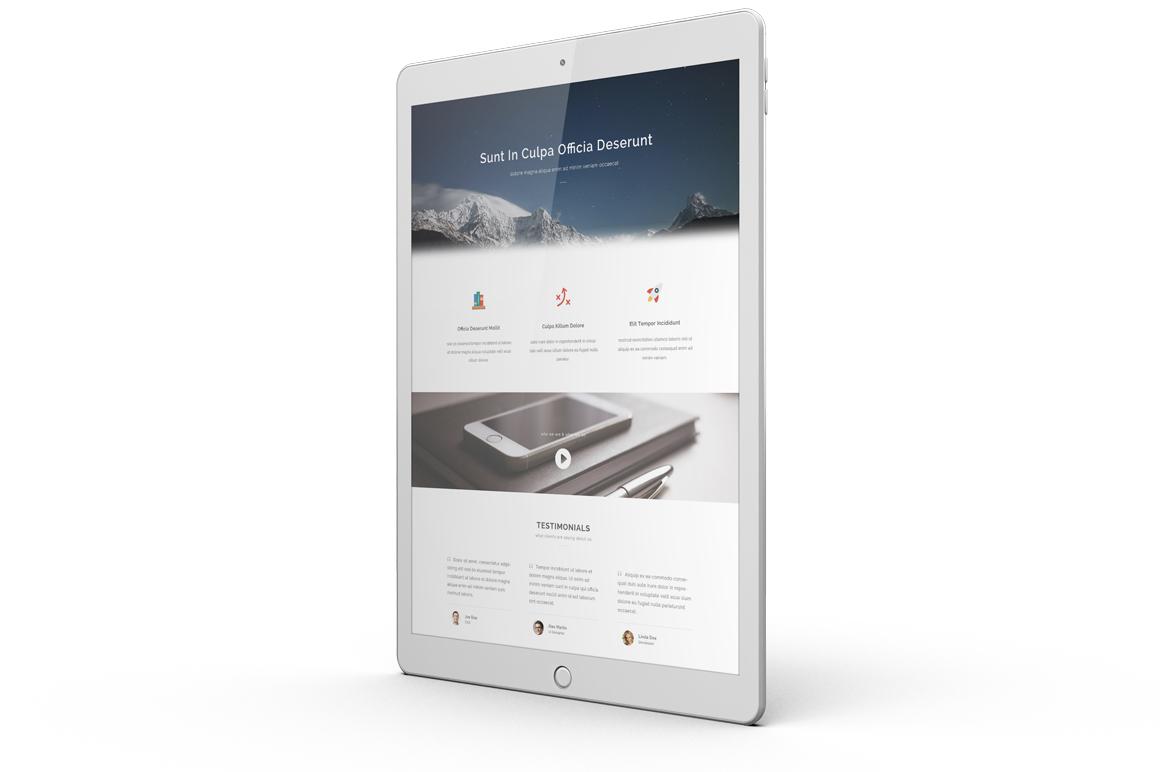 iPad Pro Mock-up vol1 example image 6