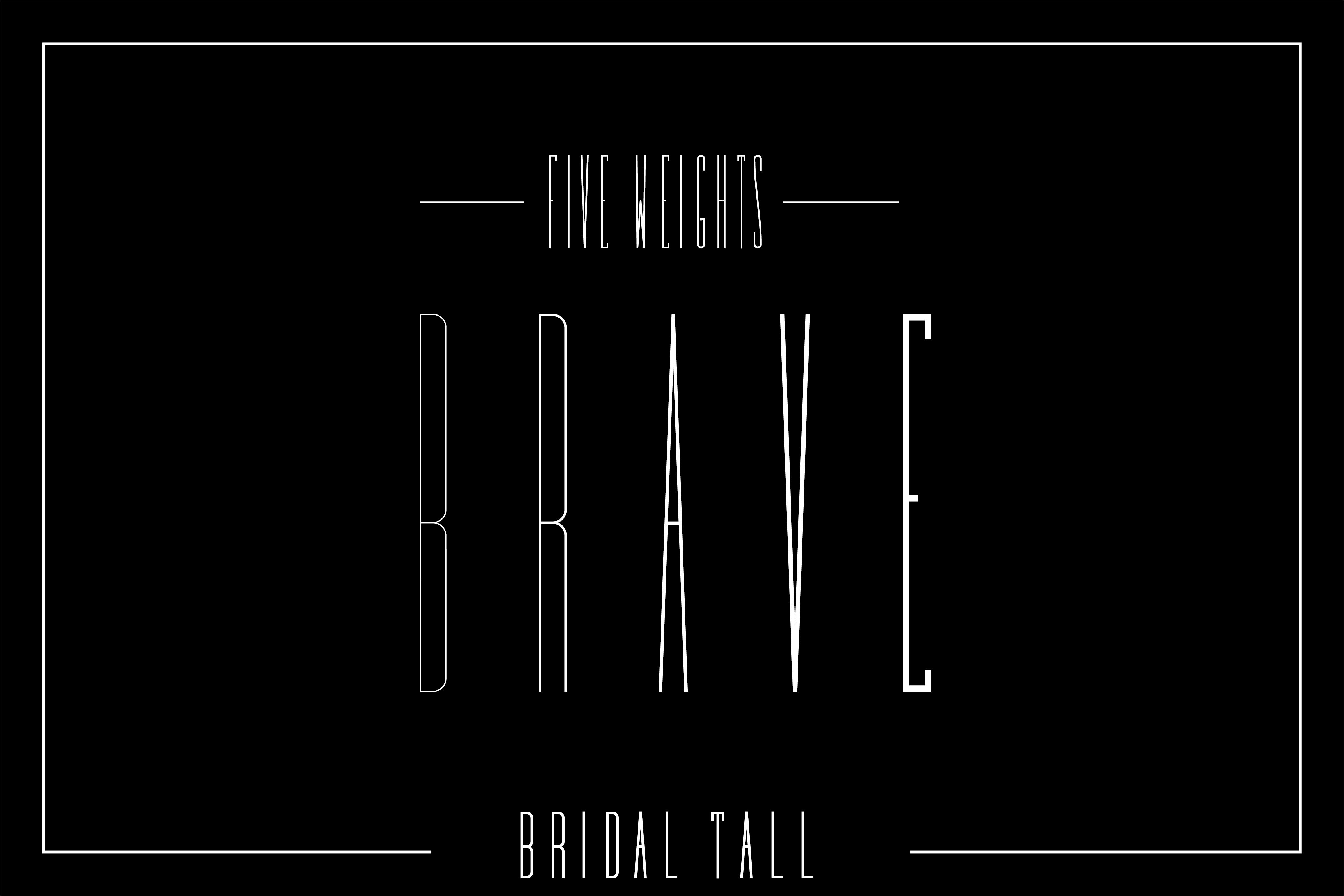 Bridal - Sans Serif Font Family example image 8