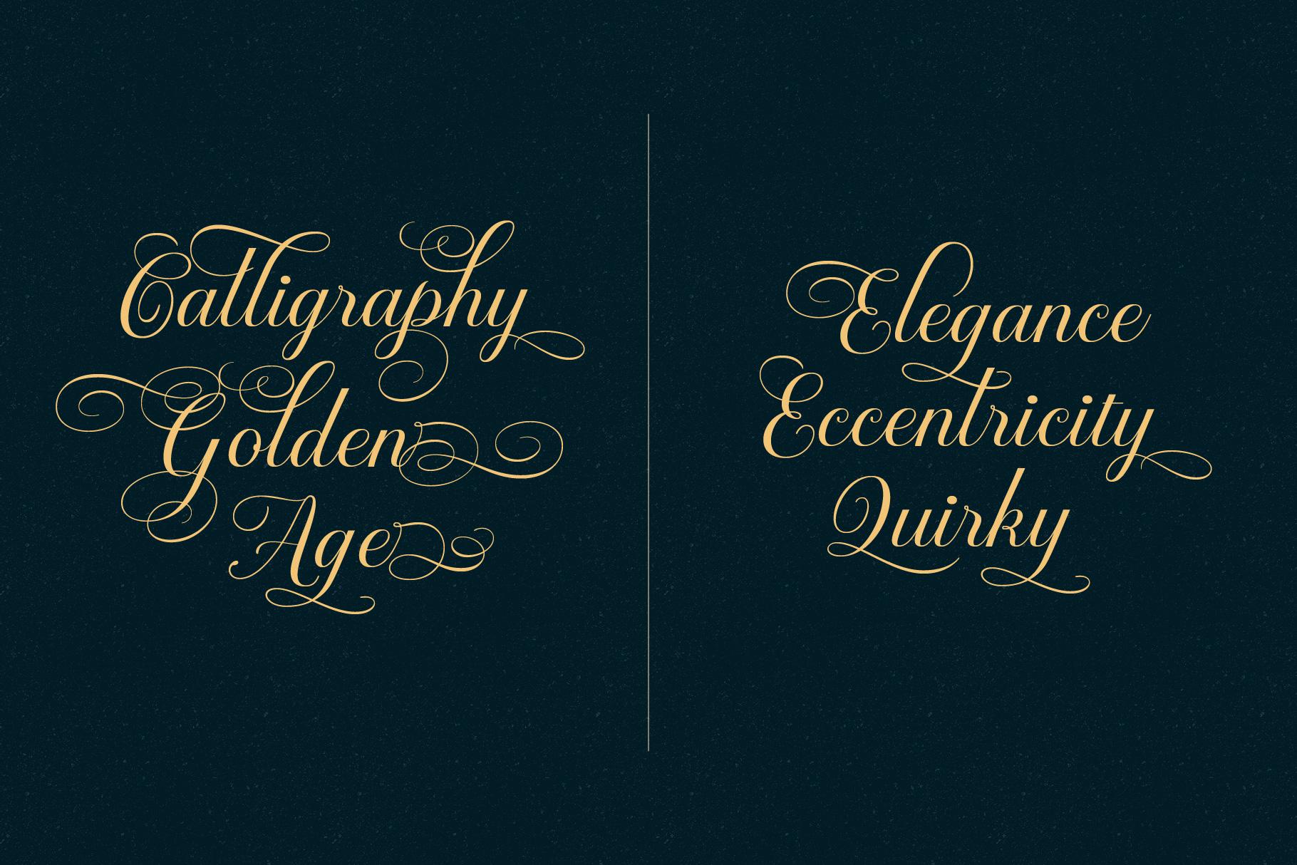 Brignola Elegant Calligraphy example image 9