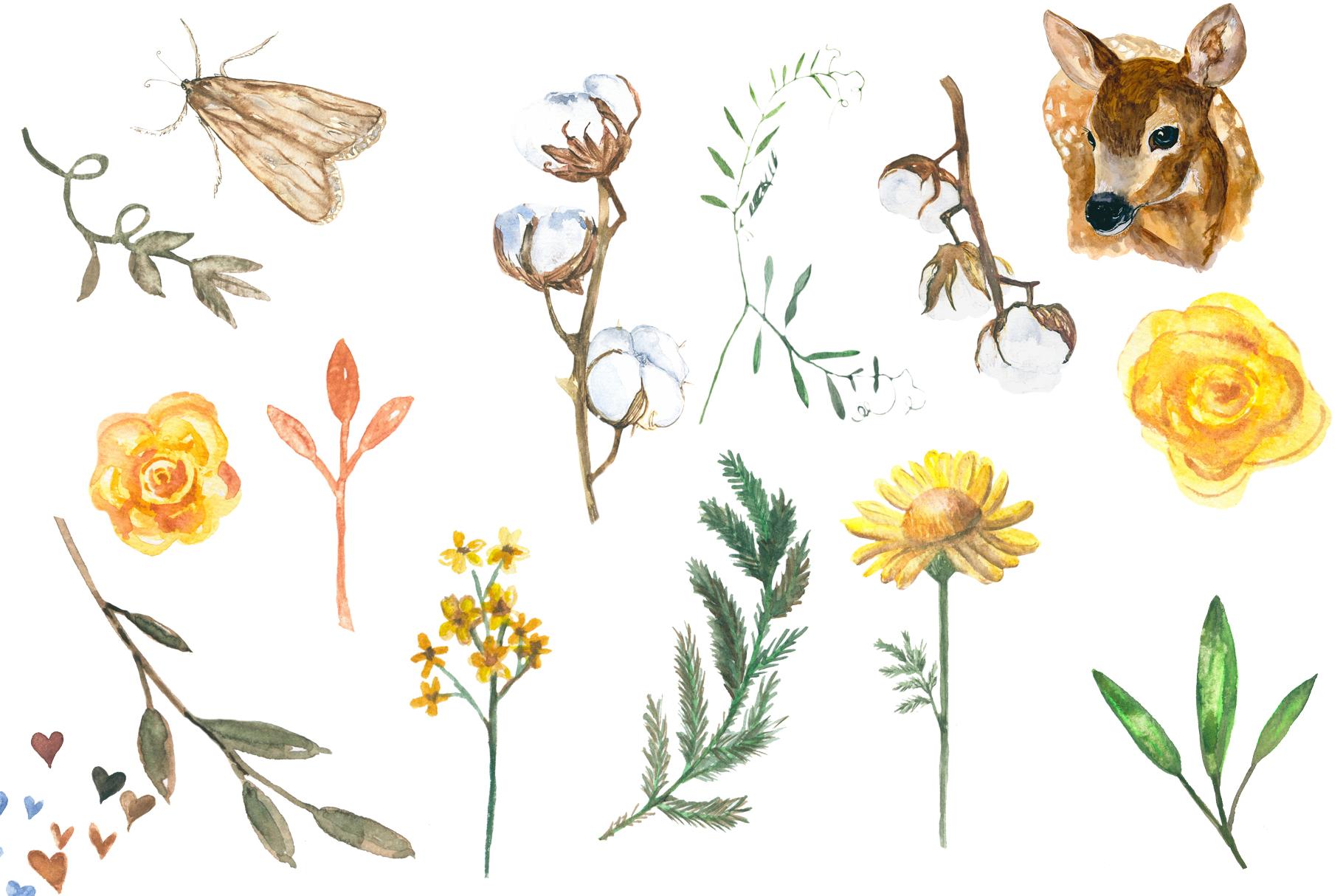 Delicate autumn illustration example image 6